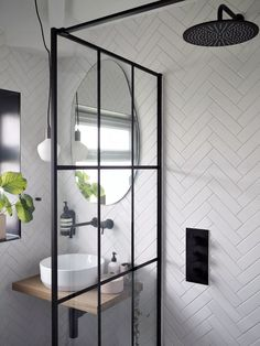 We took this room from a dull, cramped family bathroom with a bath to a modern, open feel wetroom - absolutely all fitting/labour was done by myself and (mostly) Matt and all design/layout is by me! Bathroom Design Small, Bathroom Interior Design, Modern Bathroom, Tiny Bathrooms, Small Bathroom Inspiration, Modern Shower, Modern Small Bathrooms, Shower Inspiration, Bathroom Designs