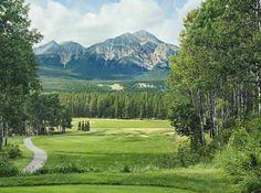 The 9th at The Fairmont Jasper Park Lodge Golf Course- Alberta, Canada