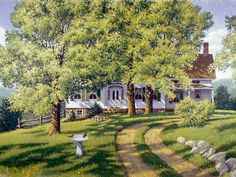John Sloane -- Reminds me of Bluebonnet Lane in Yoakum! Of all the seasons, I remember summer the most! I had the best summers & weekends there.