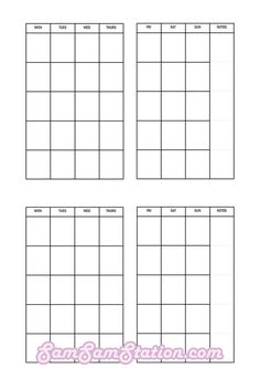 TN pocket insert: month on two pages!FREE TN pocket insert: month on two pages! Planner Tips, Planner Pages, Life Planner, Printable Planner, Planner Inserts, Planner Stickers, Free Printables, Diy Notebook, Pocket Notebook