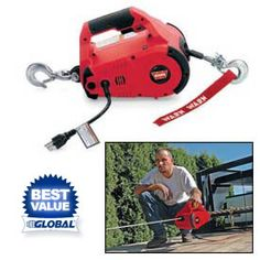 Oh what can't they do with this - make a handyman happy with the Warn Pullzall Portable Handheld Lifting & Pulling Tool.