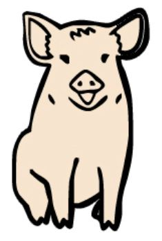 Pig Cross Stitch Patterns