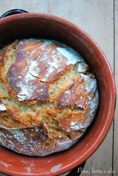 Pane, burro e alici: Il pane più pigro che c'è!