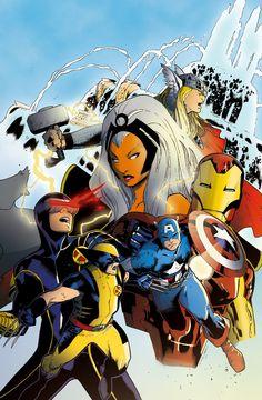 ✭ Marvel Superheroes by Mark Morales & Jennifer Gamberini
