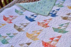 Quilt Baby Lap Handmade Seaside Sailboats Riley Blake Summer Children Throw on Etsy, $195.00