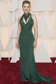 Actress Scarlett Johansson attends the 87th Annual Academy Awards at Hollywood & Highland Center on February 22