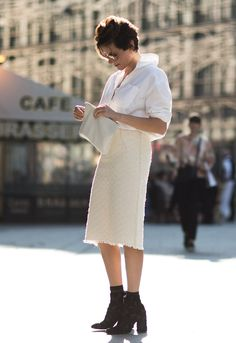 Looks / Garance Doré, Fashion Week,Nina Ricci, & Other Stories, Miu Miu, Stella McCartney, Mansur Gavriel / Garance Doré