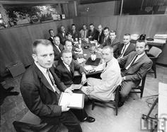 Gemini Astronauts Date taken: 1963 Photographer: Ralph Morse Nasa Missions, Moon Missions, Apollo Missions, Apollo Space Program, Nasa Space Program, Astronauts In Space, Nasa Astronauts, Gus Grissom, Project Mercury