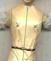 Creating a doll costume from picture to pattern