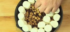 Recipe :: Smores Dip. Can also put it in a graham cracker crust to make it like a pie.