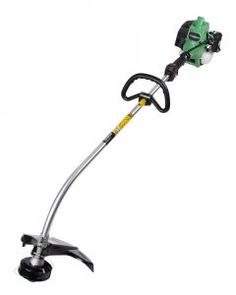 9. Hitachi 2-Cycle Gas Powered String Trimmer with Curved Shaft