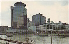 New York Rochester Across The River From First Federal Plaza And The Americana Hotel
