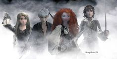 Pirates Of The Caribbean - Tangled - Rise Of The Guardians - Brave - How To Train Your Dragon1