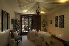 Massage+therapy+room+decor. That ceiling is amazing!!