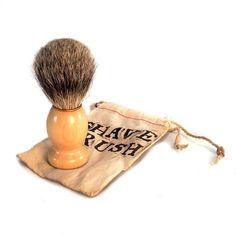 #Rasierpinsel von Soapbox Gypsy - das besondere Geschenk für den Mann.