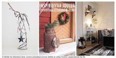StyleRoom-tiimi toivottaa kaikille inspiroivaa, rauhallista ja onnellista joulua 2014! Kuvat järjestyksessä: Saakurkistaa, Huvikumpuliving ja EssiEsmeralda. #joulukotikalenteri #styleroom #joulu