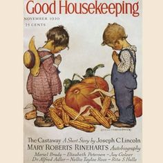 Good Housekeeping / Vintage Cover / Thanksgiving /nov 1930