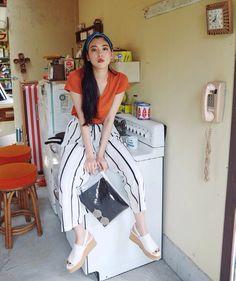 yua:    三吉彩花 Seventeen 2016年9月号