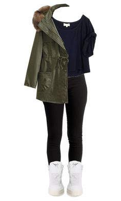 """""""Untitled #156"""" by kpthompson ❤ liked on Polyvore featuring Elizabeth and James, Giuseppe Zanotti, WithChic, women's clothing, women's fashion, women, female, woman, misses and juniors"""