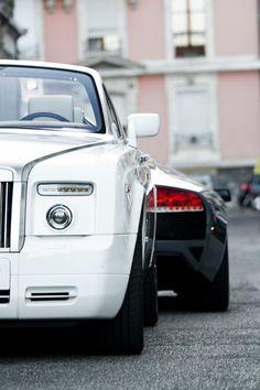 Rolls Royce Phantom & Lamborghini Murcielago