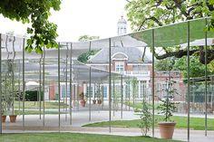 Sanaa, Pavillon pour la Serpentine Gallery, Londres, Angleterre, 2009