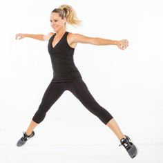 Get a tighter tummy fast with this 2-in-1 combo of high-intensity interval training and waist-whittling exercises.