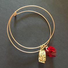 Bangle Bracelets Bangle Bracelets, Bangles, Vintage Rings, Filigree, Swarovski, Plating, Hand Painted, Gold, Jewelry