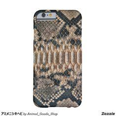 アミメニシキヘビ iPhone 6 ベアリーゼアケース