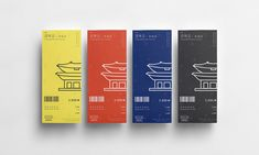 Gyeongbokgung(Royal Palace) Ticket Redesign on Behance Banner Design, Layout Design, Print Design, Web Design, Rollup Design, Packaging Design, Branding Design, Museum Branding, Catalog Printing