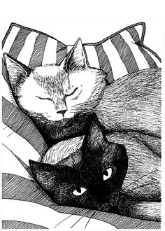 "From ""The Cats of Inman Park"" illustrated by Catherine Henry"
