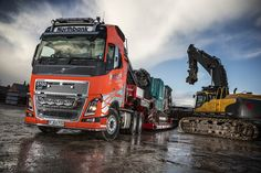 FH16 is first heavy haulage Volvo for Northbank demolition Company