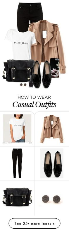 """""""Casual Chic Wednesday"""" by by-jwp on Polyvore featuring Poverty Flats, Zara, OPI and Retrò"""