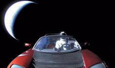 Tesla Roadster in space could collide with Venus or Earth // @inhabitat