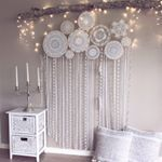 """293 Likes, 22 Comments - Weavers Of Dreams (@dreamcatcher_collective_au) on Instagram: """"✨""""Live the life you've dreamed""""✨ Custom Wall murals, for any enquiries email us directly at:…"""""""