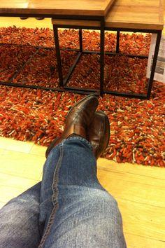 Cool trained slugs rug. Next.