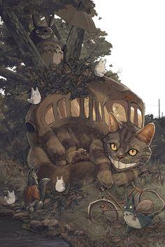 AJ Frena – Near the Camphor Tree – Totoro