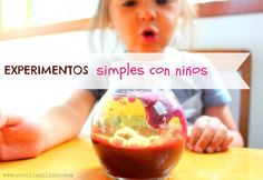 Experimentos Sensory Activities, Sensory Play, Activities For Kids, Lava, Science Experiments Kids, Science For Kids, Cool Inventions, Baby Center, Early Education