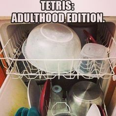 I have awesome Tetris skills, honed over the years with careful consideration and the ability to shuffle things around.