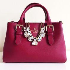 Burgundy Handbag | Kate Spade