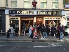 Best fish and chips! – It Happened Once Best Fish And Chips, Mushy Peas, That Poppy, Tartar Sauce, Two Fish, Pin Up Models, Live Music, Crowd, Poppies