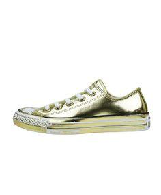 2e0dd8258d9a Footwear. Goldene TurnschuheKleid Mit TurnschuhenLeder SneakersChuck Taylors FußbekleidungOchseConverse