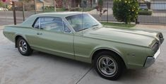 1967 Mercury Cougar - My big sister had this car and I LOVED it, till I got my Mustang and knew which one was superior :)