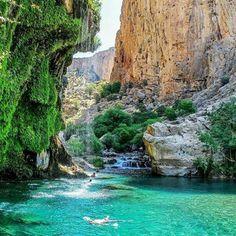 Baragh Valley - Eghlid, Fars province, Iran (in Persian: تنگه براق, اقلید, استان فارس)