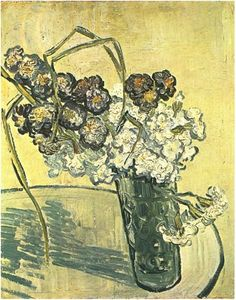 Vincent Van Gogh - Still Life, Vase of Carnations Art Print. Explore our collection of Vincent Van Gogh fine art prints, giclees, posters and hand crafted canvas products Art Van, Van Gogh Art, Vincent Van Gogh, Paul Gauguin, Flores Van Gogh, Van Gogh Still Life, Van Gogh Paintings, Henri Matisse, Carnations