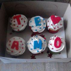Cup cake te amo