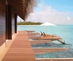 The Grand Water Villa at One Reethi Rah, Maldives