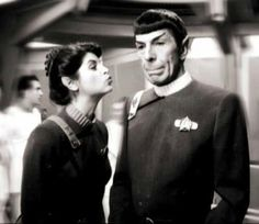 Spock and Savek sitting in a tree...