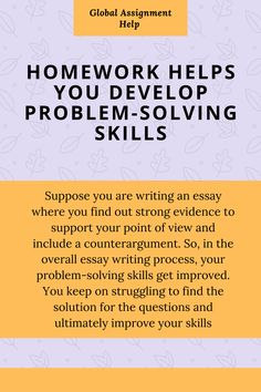 Developing problem solving skills | Homework help | Assignment help Australia. Writing help by expert writers. Academic writers. Essay | Dissertation | Case Study | Assignments. Link in bio Contact Us: +61 283 206 050 #assignmenthelp #assignment #assignments #assignmentwriting #collegestudents #colleges #collegestudent #collegestudentproblems #collegelifestyle #student #students #studentsuccess #studentmemes #studentslife #writinglife #writingsociety #dissertation #casestudy #grades #university Student Problems, Student Memes, Writing Help, Writing Tips, Essay Introduction Example, Academic Writers, Paper Writer, Paper Writing Service, Essay Writer