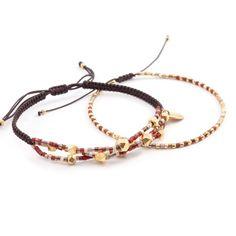Chan Luu - Red Mix Bracelet Set, $110.00 (http://www.chanluu.com/bracelets/red-mix-bracelet-set/)