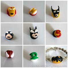 Superhero beads! So cool!